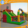 Awesome designed inflatable slide with bouncer inflatable dry slide for sale
