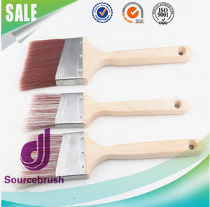 Hot selling tapered filaments synthetic fiber chip brush paint brush manufacturer