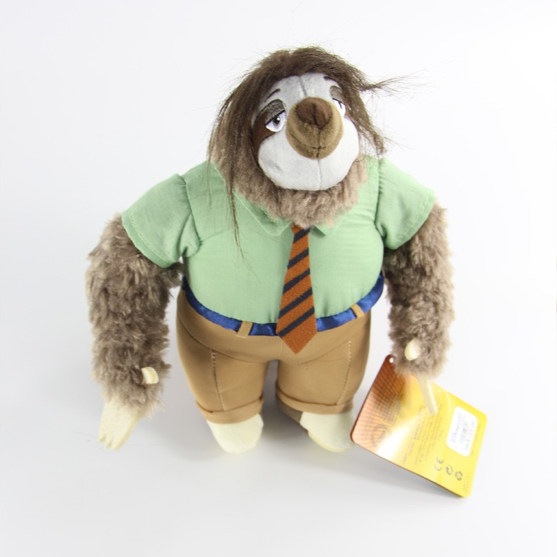 Zootopia movie cartoon sloth plush- Medium - 14 Inch Flash Stuffed <strong>animal</strong>