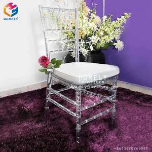 Wedding stackable wholesale resin chivalry chairs HY-BC102