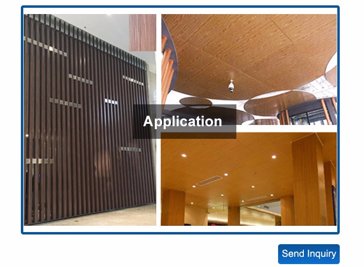 2016 Hot Sale Exterior Wooden Aluminum Wall Panels
