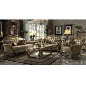 American style modern luxury sofa set living room furniture