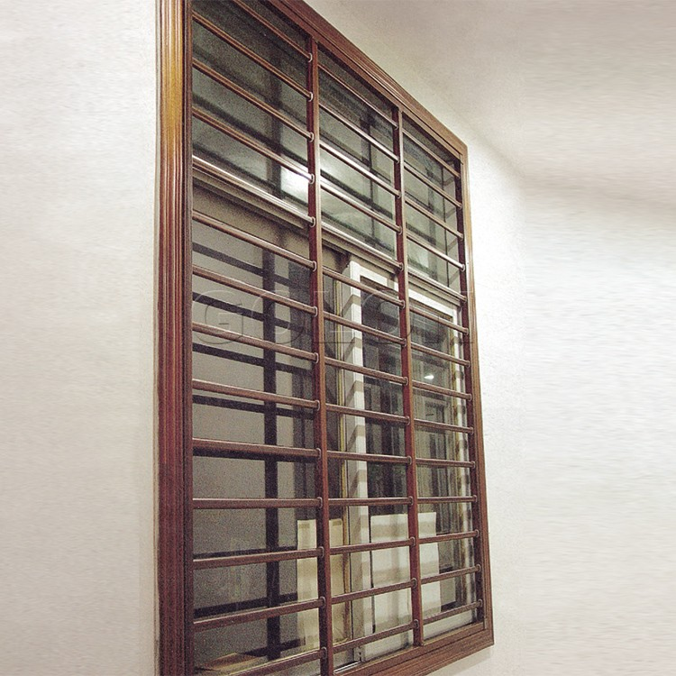China Supplier Golon Aluminium Window Grill Designcheap House