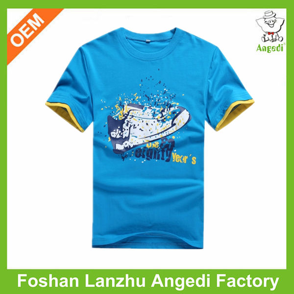kids apparel boys summer clothes cotton knitted graphic t shirt