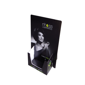 Special Design Business Card And Paper Flat Pack Counter Holder Cardboard Brochure Display Stand