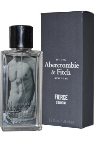Abercrombie & Fitch Fierce Cologne Spray for Men, 1.7 Ounce