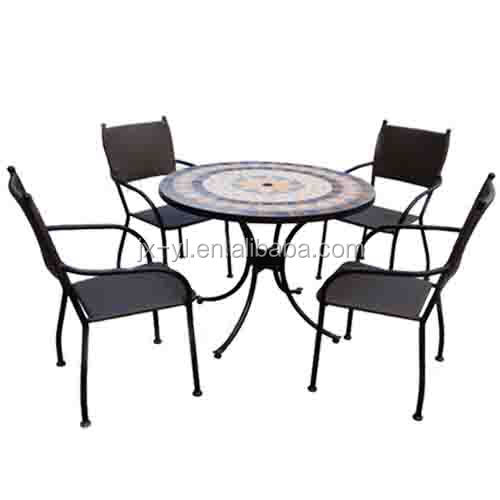 Yl 3407h Mosaic Patio Table And Chairs