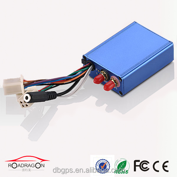 Free software gps /gsm/gprs sim card vehicle gps tracker with car gate barrier and sos elderly