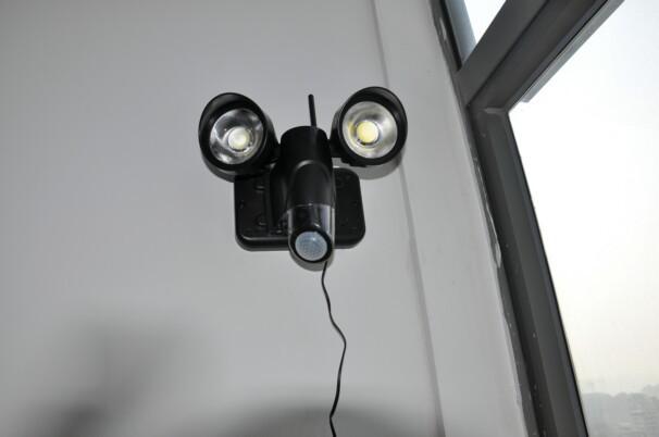 Telecamera Nascosta Da Esterno : P impermeabile wifi esterno telecamera luce nascosta zr con