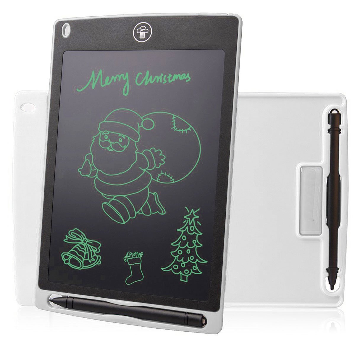 Color : Brown, Size : 8.5 inches Teerwere LCD Tablet Home Electronic LCD Tablet Non-Magnetic Pen Graffiti Board Childrens Drawing Board LCD Writing Tablet LCD Writing Tablet Board