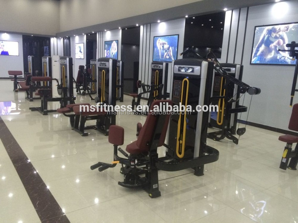 Fitness exercise equipment/Standing Leg Extension/strength machine