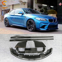 For M2 F87 Carbon Fiber Body Kits F87 M2 Carbon Rear Diffuser