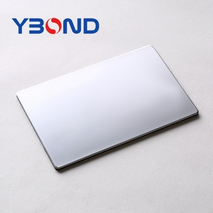 Alucobond / ACM / ACP / silver mirror finish aluminum composite panel