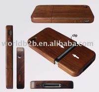 high quality wood case for iphone 4/4S, wholesale wood case