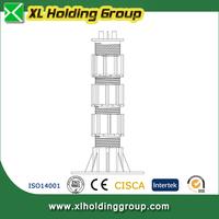 outdoor raised floor support adjustable plastic pedestals