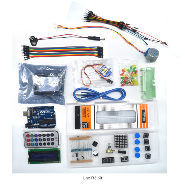 Demo Board & Accessories Computer & Office Trustful 1 Set Starter Kit Basic Learning Suite For Uno R3 Kit Upgraded Stepper Motor Led Jumper Wire Kits For With Retail Box To Assure Years Of Trouble-Free Service