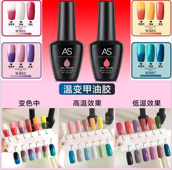 Nail Art Soak Off Mood Changing Fingernail Gel Nail Polish - Buy Gel ...