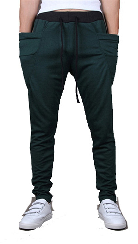 Jeff Tribble 8 Colors Mens Joggers Cargo Pants Sweatpants Jogger Pants