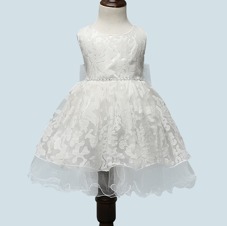 Princess Flower Girl Dress Summer 2017 Tutu Wedding Birthday Party Dresses  for Girls Children S Costume Prom Design a283c869c8f2