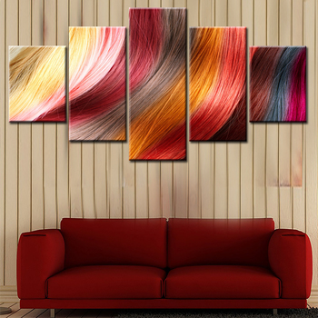2018 Simple Pure Nordic Naturism Abstract Wall Art Modern Oil Painting Canvas Prints For Home Living Room Decoration Free Ship Creative