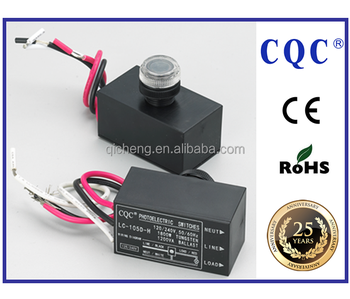 Ul 773a Standard Photocontrol Silicon Photocell Photoelectric Switch For Exterior Lighting Control 12v