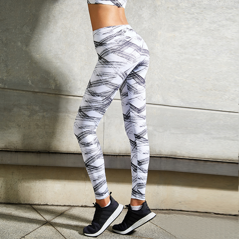 Ladies Athletic Yoga Gym Running Cropped Leggings Stretch Sports Exercise Pants