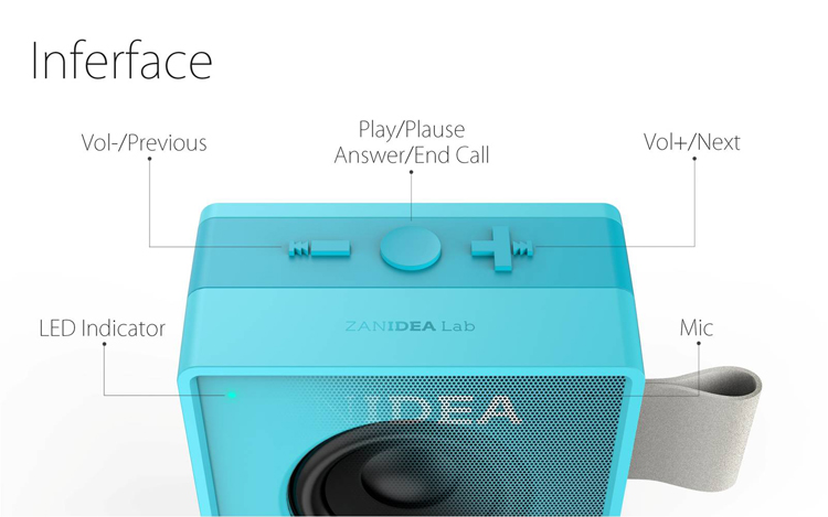 Classic Mini Sound Box Speaker Portable Audio Powerful Sound