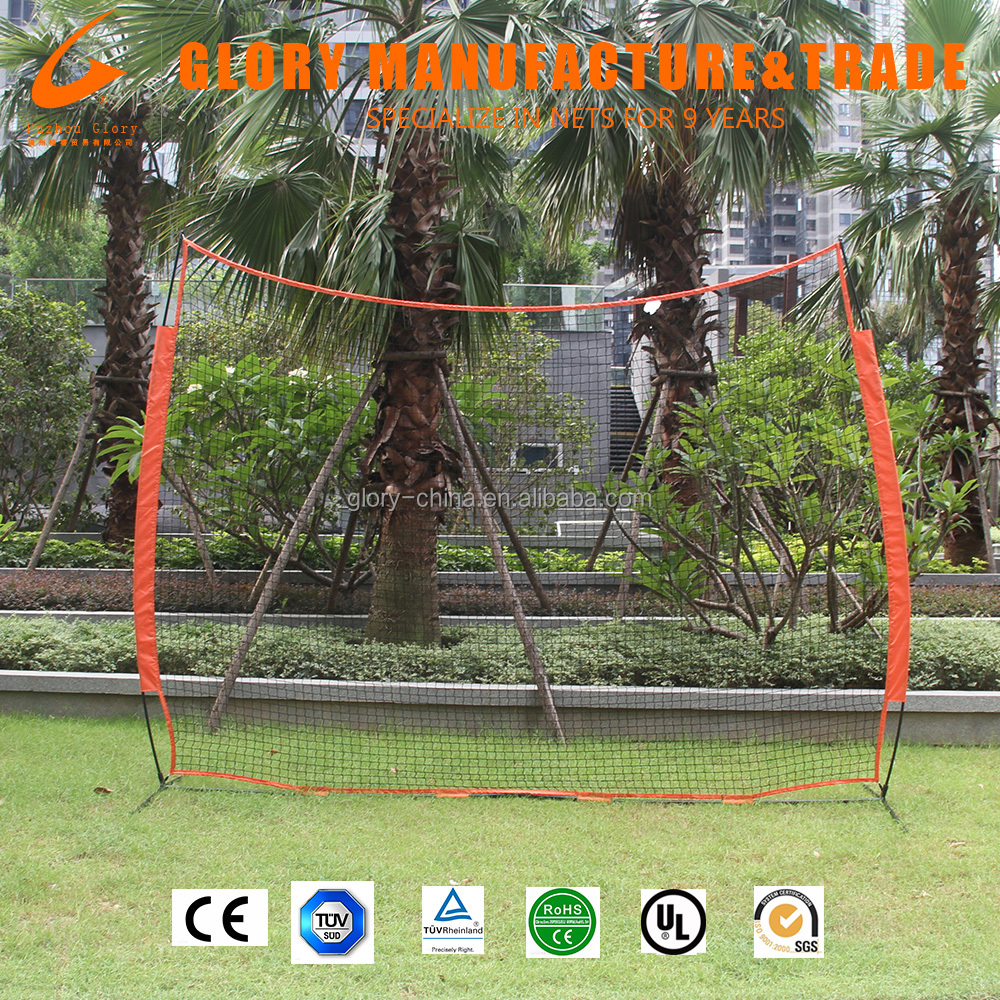 12'*9' Baseball & Softball Practice Barrier Net for Hitting and Batting