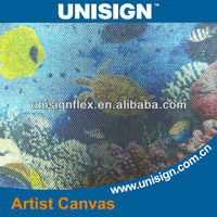 inkjet printing oil canvas, polyester canvas