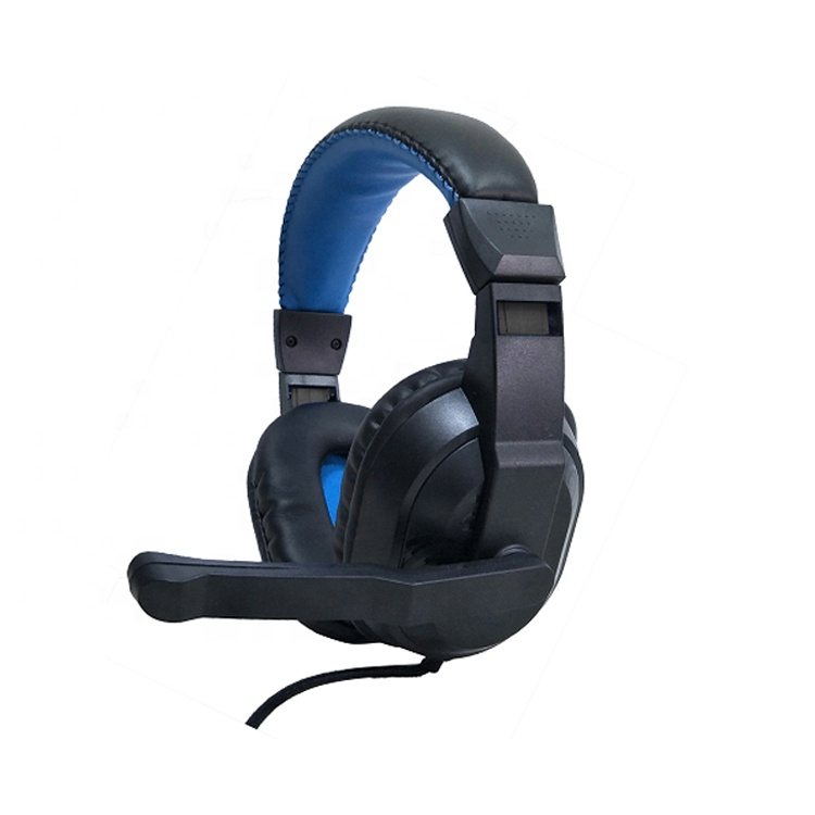 आकर्षक डिजाइन के साथ पीसी कंप्यूटर headphones हेडसेट्स माइक्रोफोन और केबल बिक्री के लिए नियंत्रक