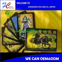 2015 Lenticular 3D flip design game card/Christmas card designs high quality