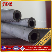 Suitable price!JDE flexible rubber hose pipe DIN 853 1SN one wire braided reinforcement weather resistant hydraulic hose