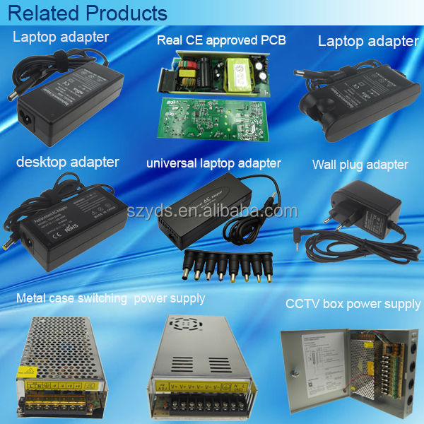 high quality ic charger laptop 12V 10A for LED CCTV camera pos machine 120W switching power adapter