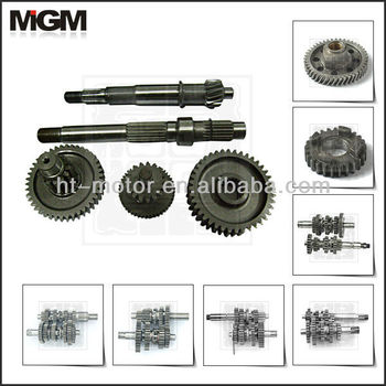 Oem High Quality Motorcycle Parts Motorcycle Transmission Gear For 125cc  Main Shaft - Buy Motorcycle Gear Parts,Motorcycle Drive Shaft  Gear,Motorcycle