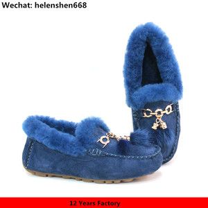 Custom Luxury Wholesale Import and Export Women Shoes 2017 Ladies Moccasins Dakota Shoes