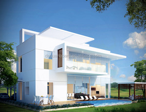 modern house, eps prefabricated house 50 and 75m2, preferable price including kitchen and bathroom fixtures