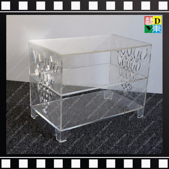 lucite console table. Clear Acrylic Table Lucite Console Perspex Living Room