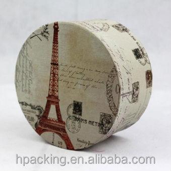 Round Birthday Cake Paper Box Design