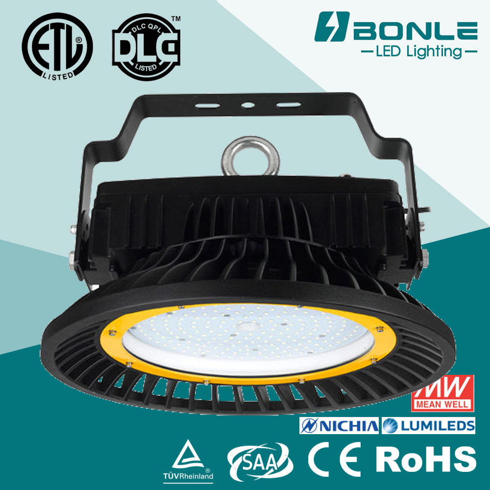 CE RoHS SAA RCM IP66 IK08 Certificated Anti Dust 24000 Lumens 200W Led High Bay Light