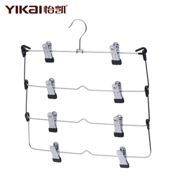 Foldable Metal Skirt Hanger