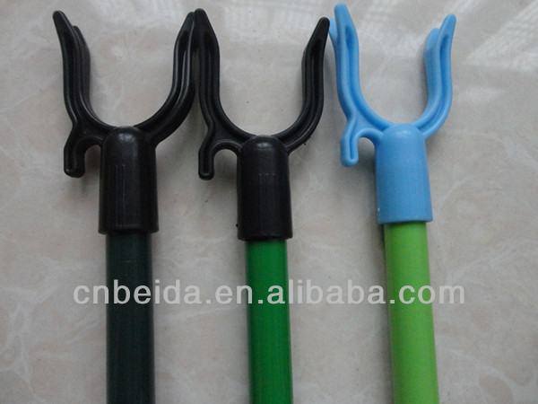 High Quality Iron Metal Handle Cloth Hanger Fork With Powder Coated