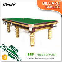 Shender 9ft cheap pool tables 10ft snooker tables billiard pool table