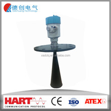 PTFE Flange/screw thread radar level transmitter/China OEM Continuous level measurement of bulk solids to 70m with low cost