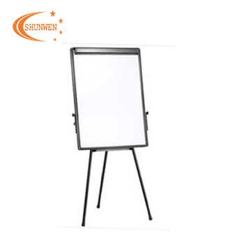 24 36 Standard Size Adjule Flip Chart White Magnetic Writing Board Office Depot