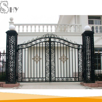 Modern Decorative House Entrance Cast Iron Latest Main Gate Designs