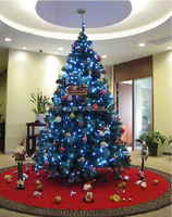 2013 New Led Lighted Home Decoration Glass Xmas Tree