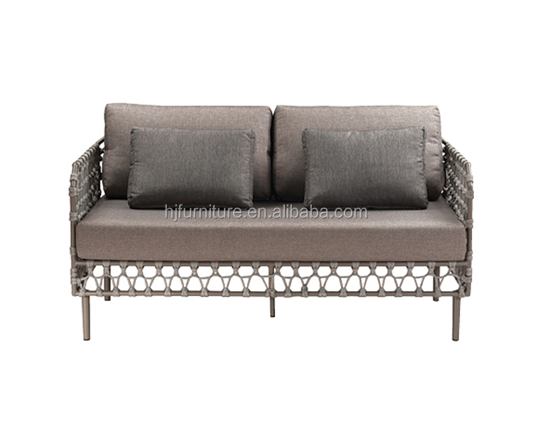 Modern Outdoor Furniture Wicker Rattan Patio Garden Sofa