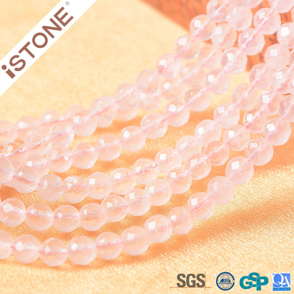 Wholesale <strong>Natural</strong> Rose Quartz Round Beads For Jewelry Making