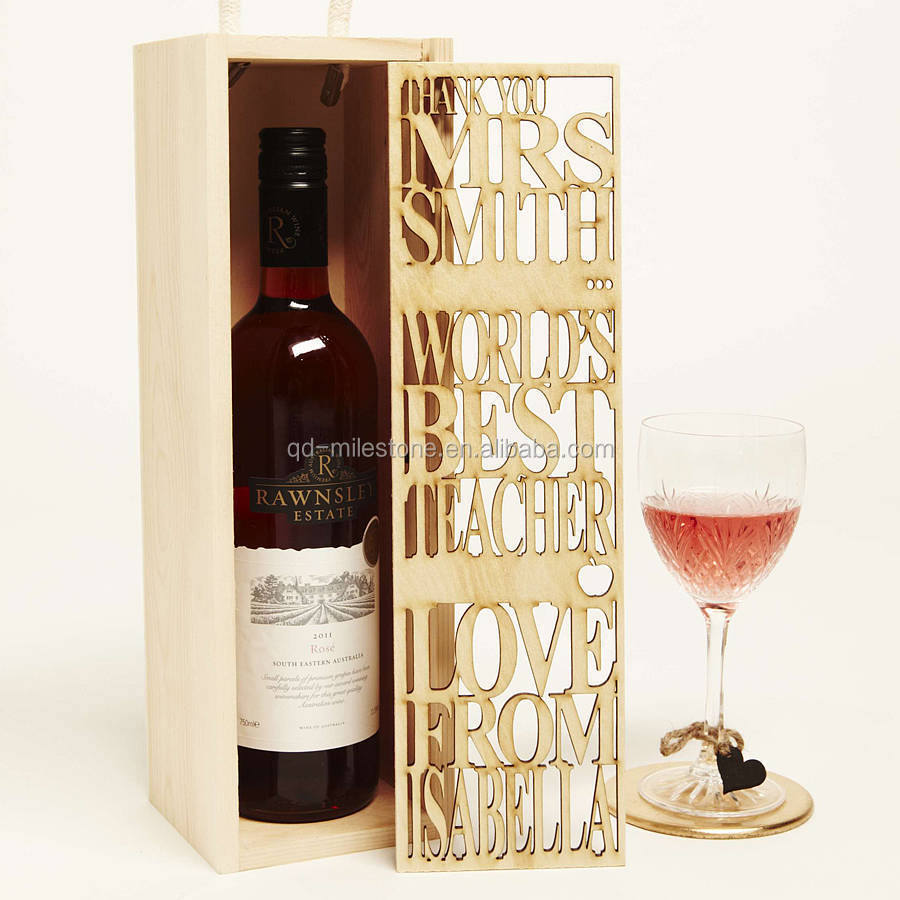 Wooden wine box pine wood wine crates buy wooden wine for Timber wine box