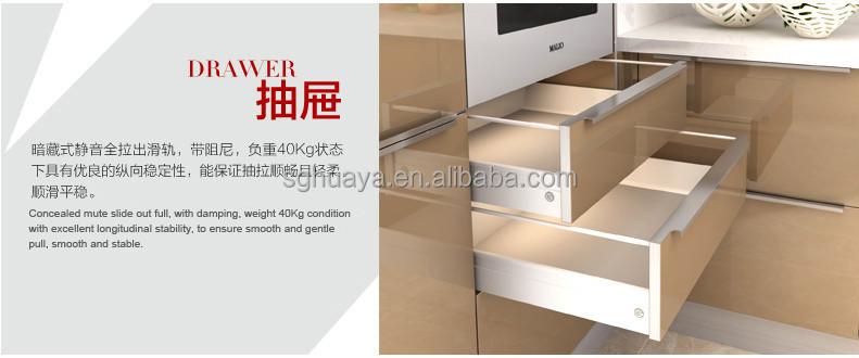 China wholesale oppein rosso lacca mobili da cucina economici per ...